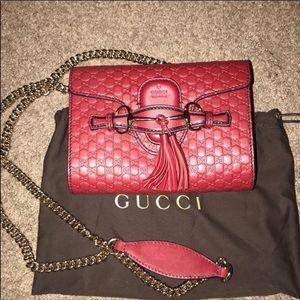 Gucci Emily chain crossbody bag!